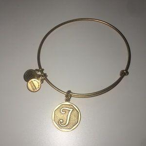 Alex and ani T bracelet